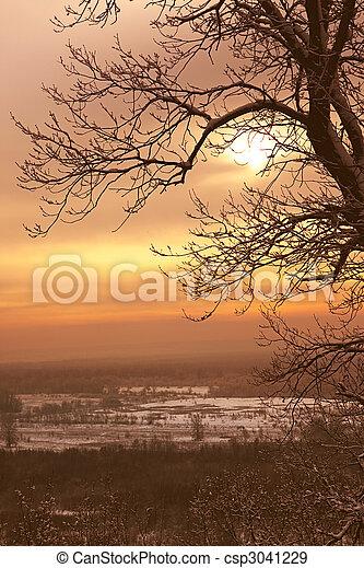 Winter Landscape - csp3041229