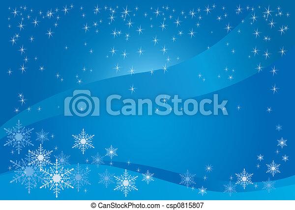 Winter Magic Background - csp0815807