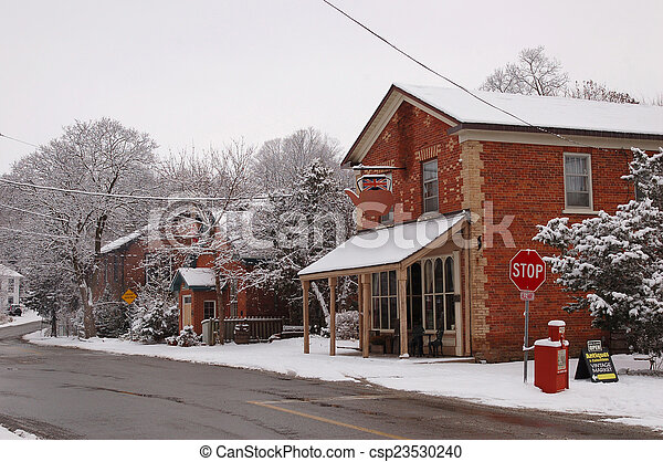 Winter morning - csp23530240
