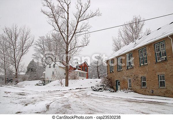 Winter morning - csp23530238