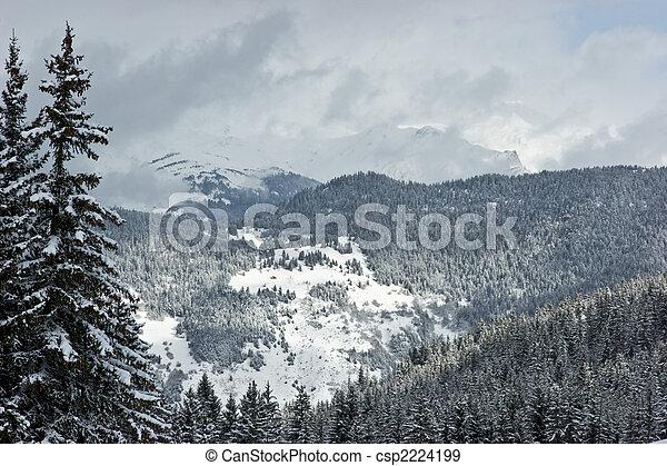 Winter mountain - csp2224199