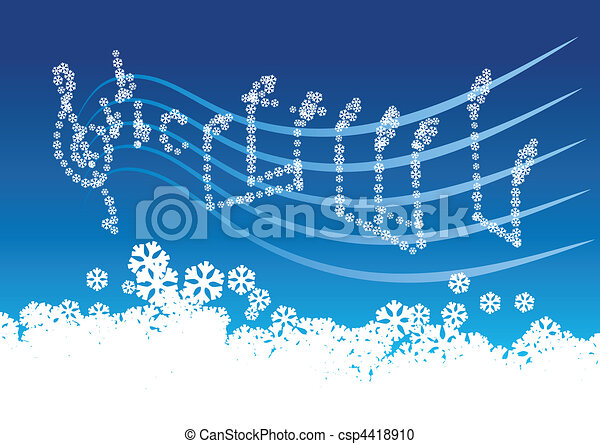 winter music - csp4418910