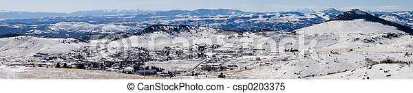 winter panorama 1 - csp0203375