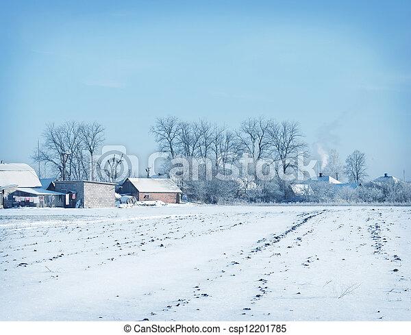 winter - csp12201785