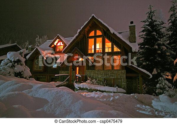 Winter Retreat - csp0475479