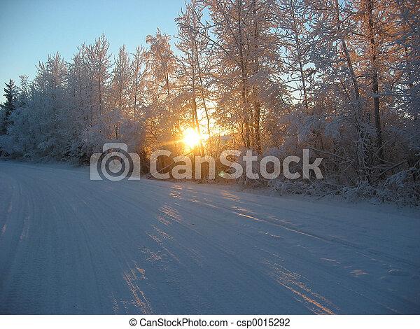 Winter Road - csp0015292