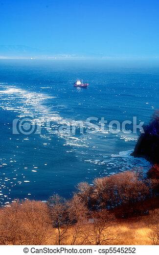 Winter Sea - csp5545252