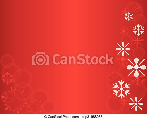 Winter Snowflake Holiday Template - csp31988066