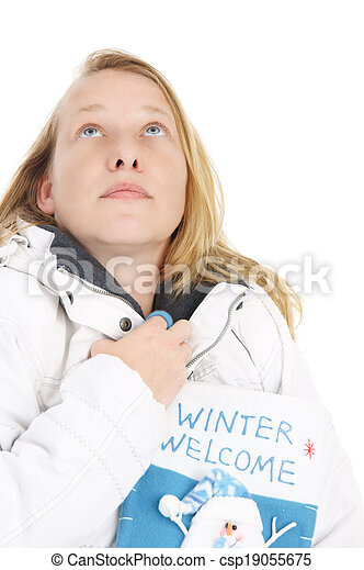 Winter time - csp19055675