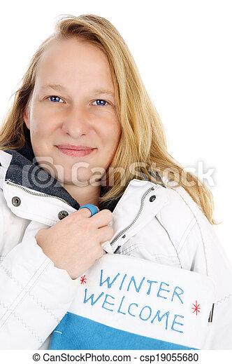 Winter time - csp19055680