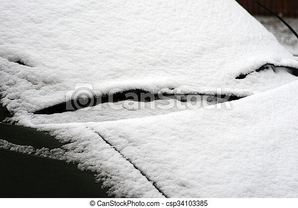 Winter time - csp34103385