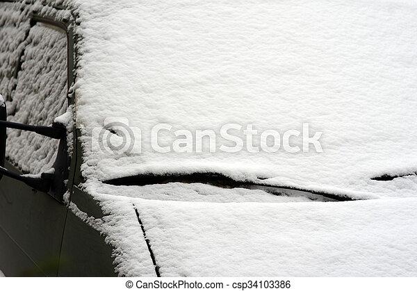 Winter time - csp34103386
