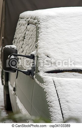 Winter time - csp34103389