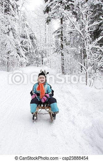 winter time - csp23888454