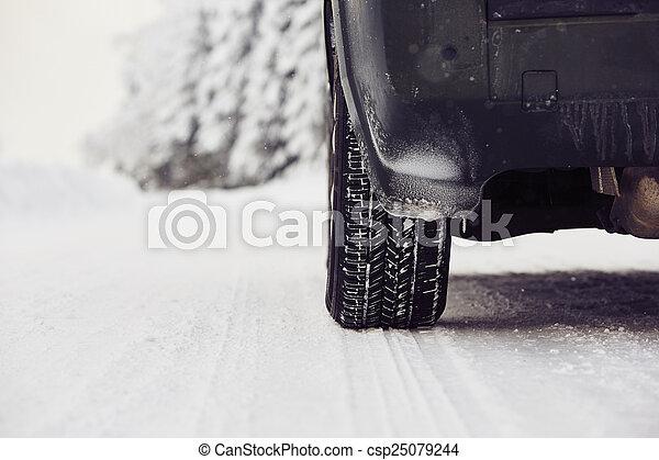 Winter tire - csp25079244