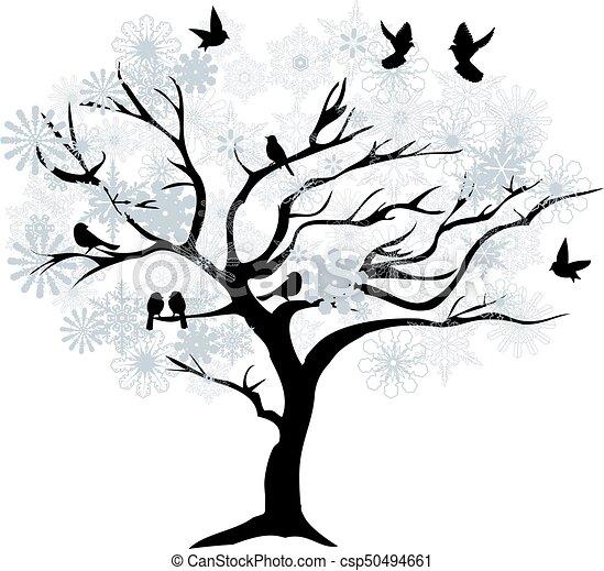 Winter Tree Clip Art