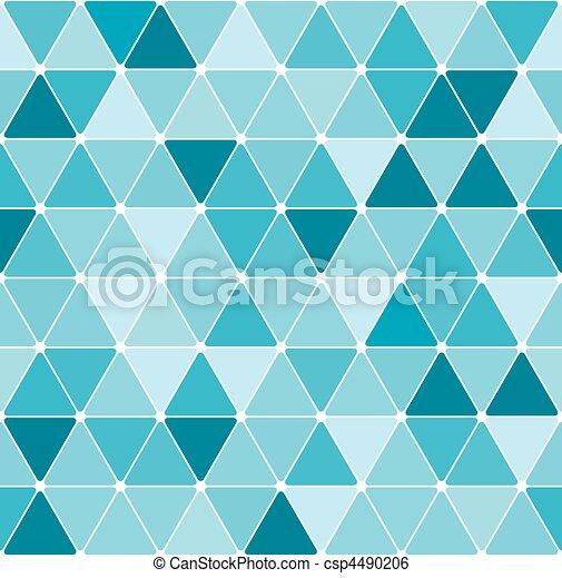 Winter triangle pattern - csp4490206