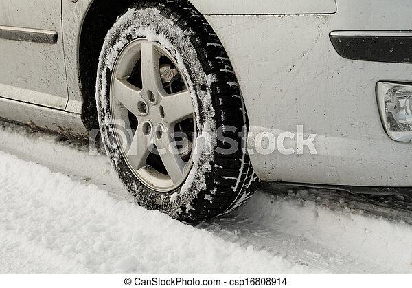 Winter tyre - csp16808914