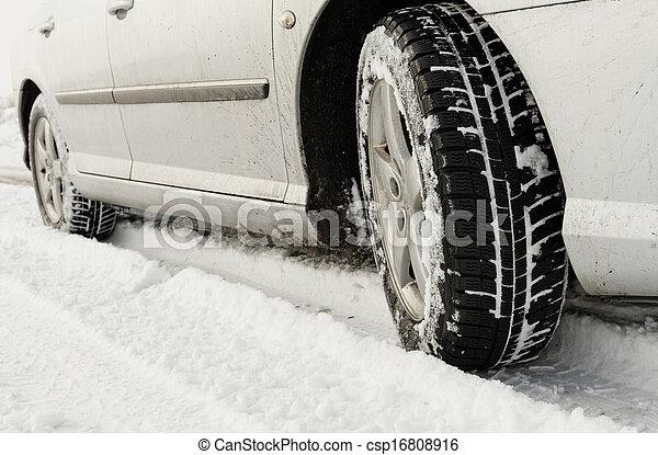 Winter tyre - csp16808916