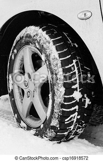 Winter tyre - csp16918572