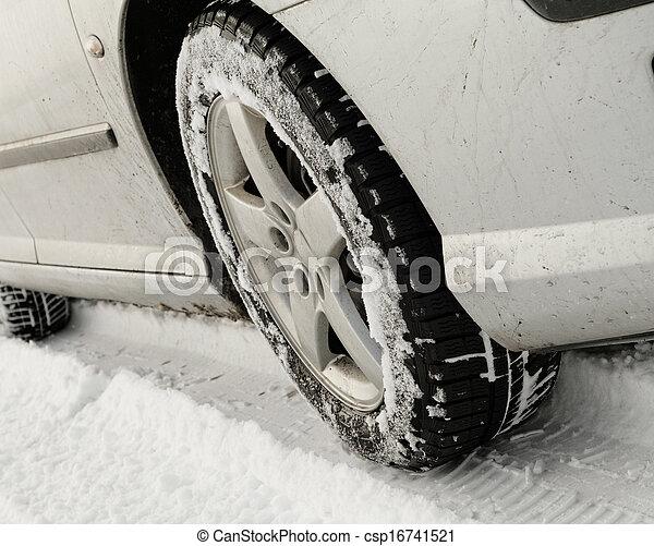 Winter tyre - csp16741521