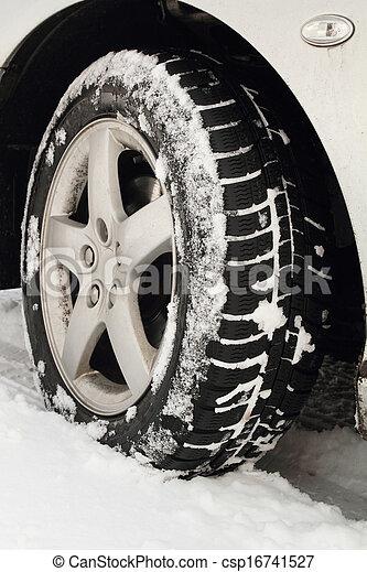 Winter tyre - csp16741527