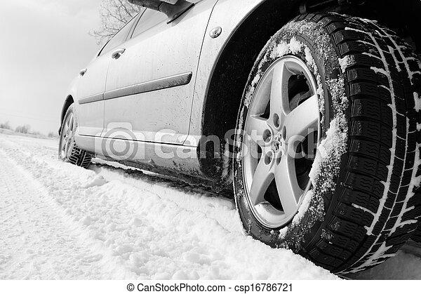 Winter tyre - csp16786721