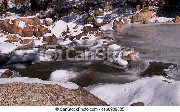Winter Water - csp0909885