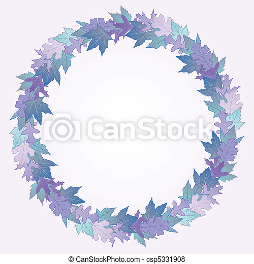 Winter wreath - csp5331908