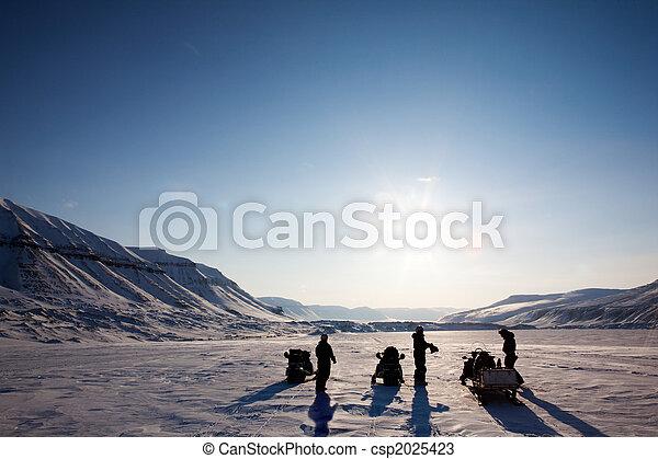 winterlandschap, avontuur - csp2025423