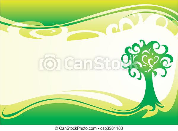 wiosna, tapeta - csp3381183