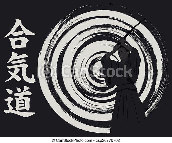 wir, aikido, werfen, mann - csp26770702