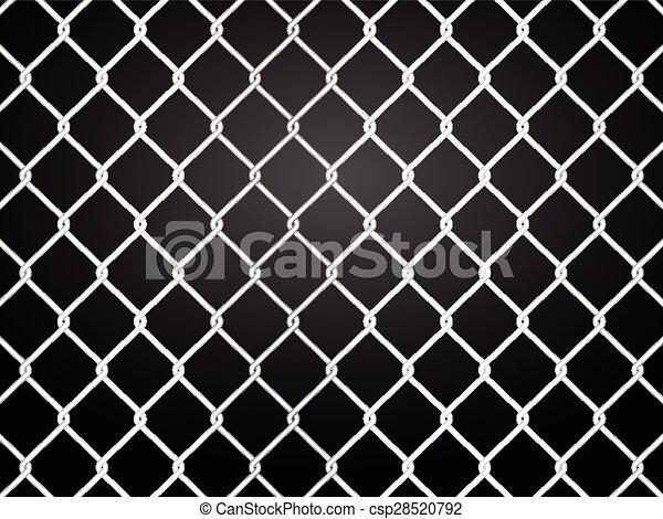 wire fence - csp28520792