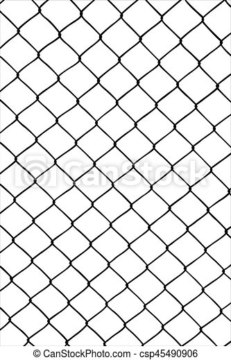 Wire fence silhouette, as background.