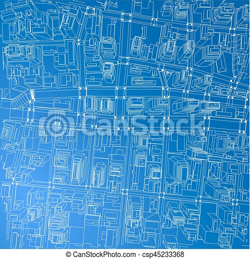 Wire frame city blueprint style vector wire frame city clip wire frame city blueprint style vector malvernweather Gallery