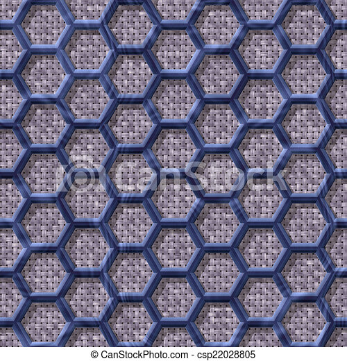 Wire mesh fabric seamless generated hires texture - csp22028805