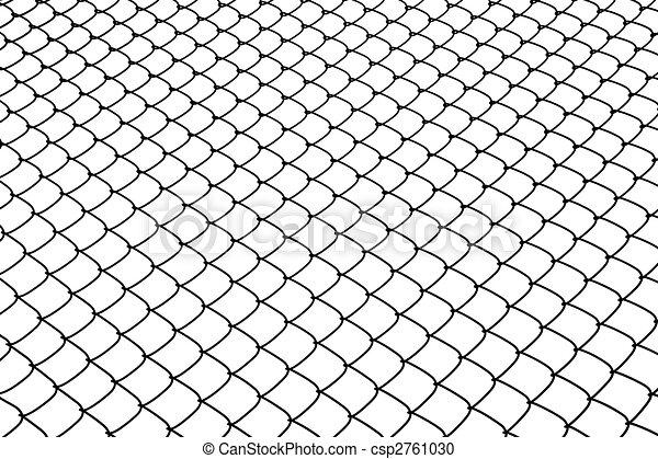 Wire netting.