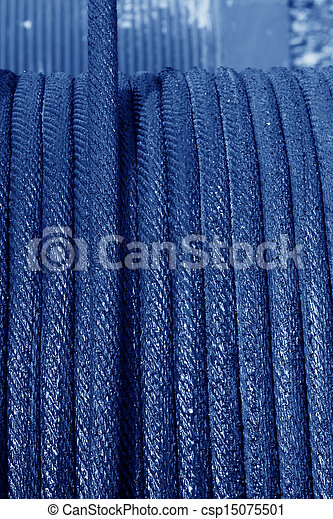 Wire Rope Texture Stock Photo