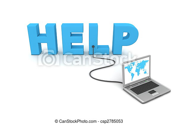 Wired to Help - csp2785053