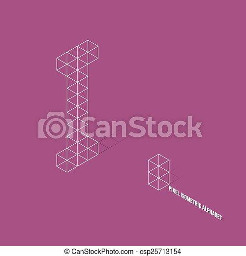 wireframe-pixel-isometric-alphabet-clipa