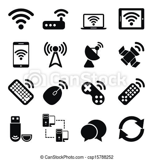 Wireless Devices Icons Set - csp15788252