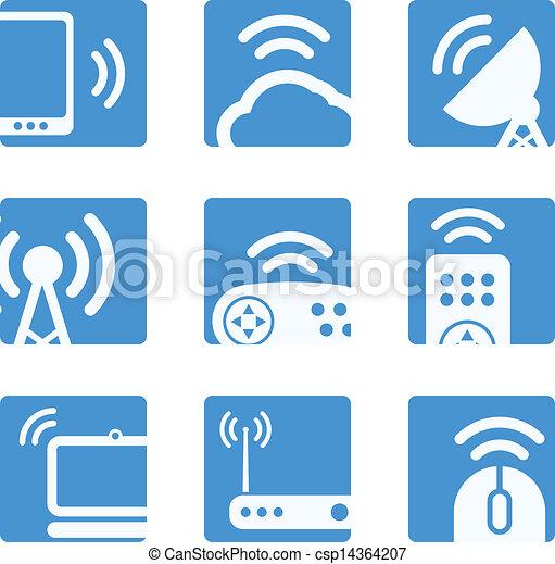 Wireless equipment buttons - csp14364207