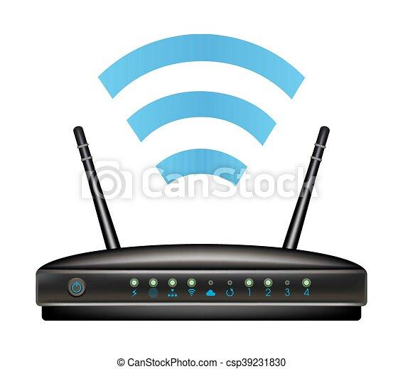Wireless ethernet modem router.