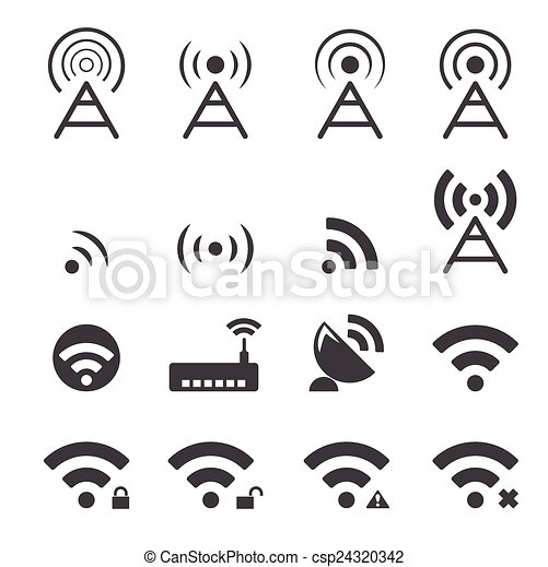 wireless icon - csp24320342