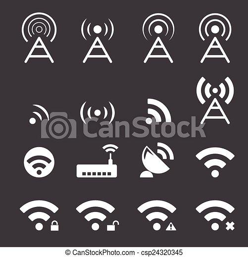 wireless icon - csp24320345