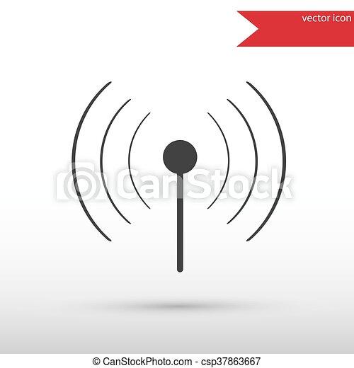 Wireless icon. WIFI. - csp37863667