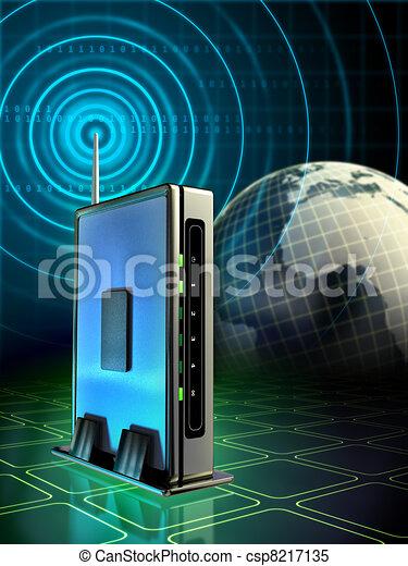 Wireless router - csp8217135