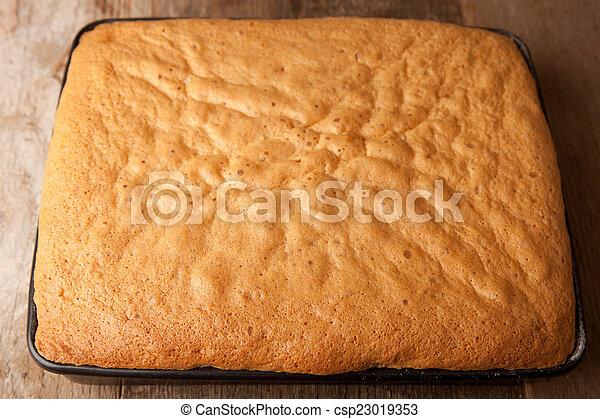 Wischen Kuchen Backblech Backen Holzern Wischen Kuchen Tisch