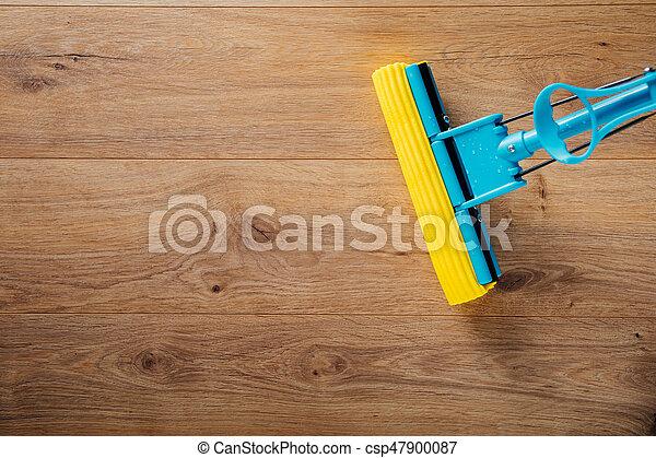 Wischmop Putzen Boden