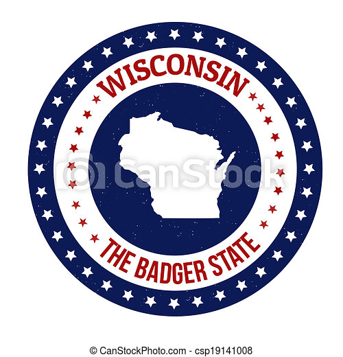 Wisconsin stamp - csp19141008